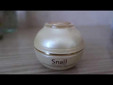 Snail. Крем для лица с экстрактом слизи улитки)))