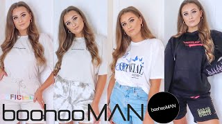 BOOHOOMAN *NEW IN* TRY ON HAUL / STYLING MENS CLOTHES | TASHA GLAYSHER
