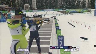 Biathlon Women 10Km Pursuit Complete Event | Vancouver 2010