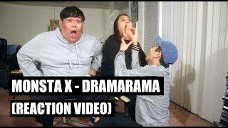 MONSTA X - Dramarama || Reaction Video (W E T LMAO)