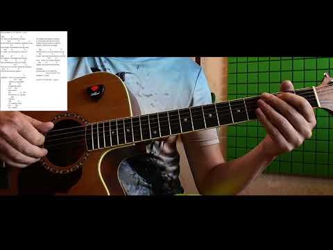 Как играть Би-2 - ЕЁ ГЛАЗА | Константин Сапрыкин