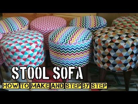 Cara Membuat Sofa Bulat Minimalis || Sofa Minimalis Modern