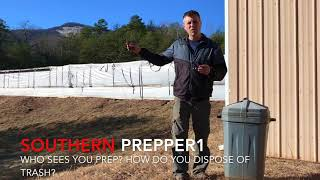 I answer a few common prepping questions.