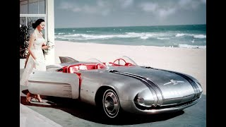 1950s Futuristic Visions: The Cars Of The Future - The Jet Age Meets The Automobile - Futuros Autos