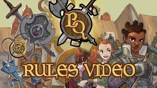 Bargain Quest Basic Rules Runthrough