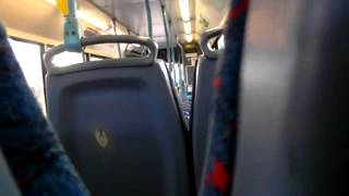 Video Stagecoach Manchester 33864 MW54BLU on 118 to Manchester 20141029