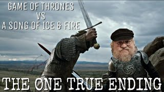 George R.R. Martin Throws More Shade At The Game of Thrones Ending? - Game of Thrones vs ASOIAF