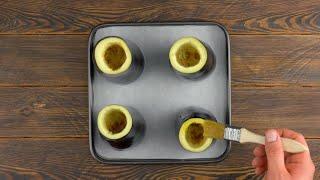 """""""Вулкан"""" из любимого овоща с соусом: простой и очень вкусный рецепт."""