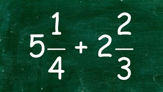 Learn How To Add Two Mixed Numbers With Unlike Denominators