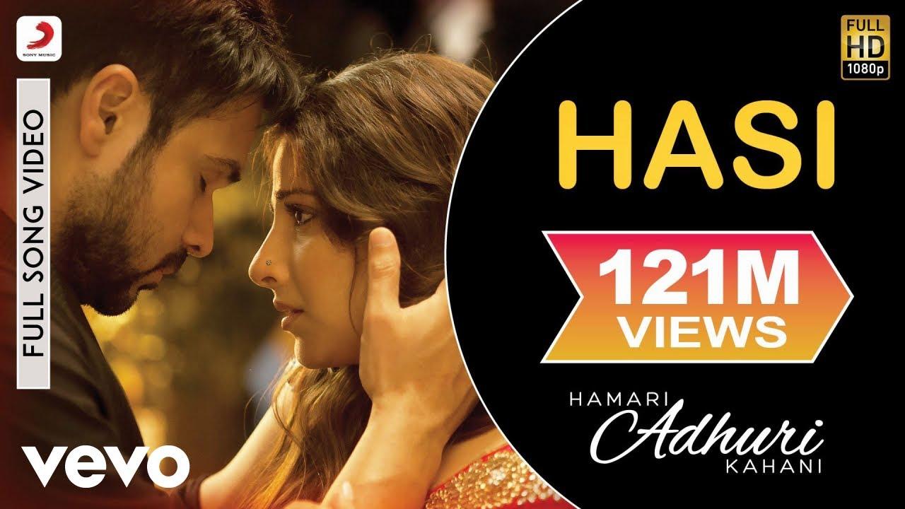 HASI LYRICS - Hamari Adhuri Kahani