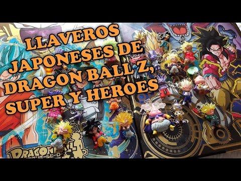 Llaveros Japoneses de Dragon Ball Z, Super y Heroes UDM Burst Gachapon Collection