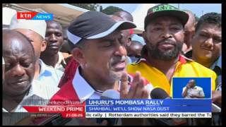 President Uhuru Kenyatta heads to Mombasa to rally support for his presidential re-election bid
