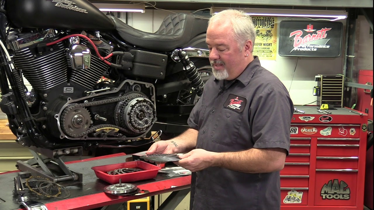 Barnett Extra PLate Kit and H-D Diaghram Spring Installation