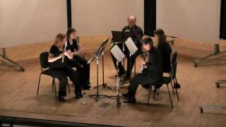 Deslandres: Three Pieces for Woodwind Quintet - I. Andante