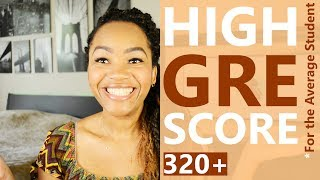How an Average Student can score HIGH on the GRE || Revealing my GRE Score and Detailed Study Plan