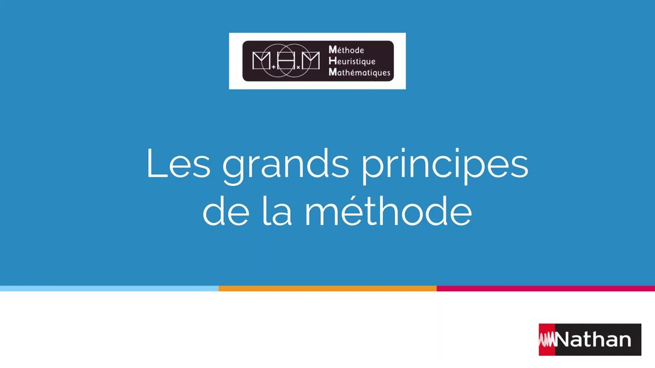 Les 5 grands principes de MHM