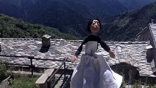 Italian Alps:  Inspired Puppet