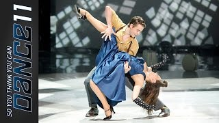 "Zack Everhart, Jr (Makenzie Dustman) ""The Way You Make Me Feel"" - SYTYCD 11 Ep12 Top 8"