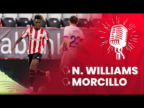 🎙 Nico Williams & Jon Morcillo | post Athletic Club 2-2 Real Valladolid | 33. J LaLiga 2020-21