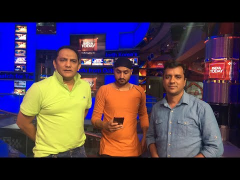 LIVE: Azhar & Harbhajan Preview Hyderabad T20 | Sports Tak