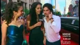 Нина Добрев и Йен Сомерхолдер, Нина и Йен на красной дорожке Much Music Video Awards (19.06.2011)