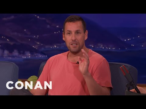 Harrison Ford Asked Adam Sandler To Wash His Car  - CONAN on TBS