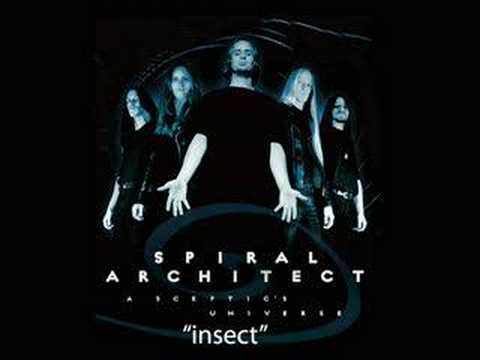 Spiral Architect - Insect online metal music video by SPIRAL ARCHITECT