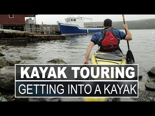 Kayak Touring   Getting In and Out of Your Kayak