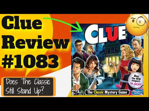 Bower's Game Corner: Clue Review