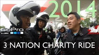 preview picture of video '3 Nation Charity Ride 2014 part 1/3 (3NCR Hatyai)'