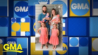 Family adopts 2 sisters, then finds out they're pregnant with twins l GMA