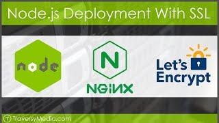 Full Node.js Deployment - NGINX, SSL With Lets Encrypt