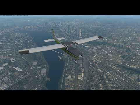 Airfoil Labs Updated Cessna 172 w/ X-Aviation Nantucket Scenery