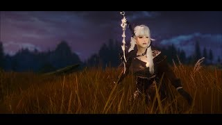 Одежда Dark Knight из игры Black Desert для Skyrim + HDT Weapons (v 1.5) Часть 5