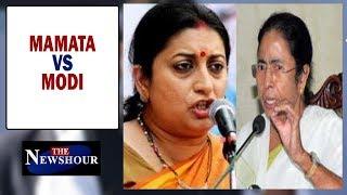 Smriti Irani takes on Mamata Banerjee, Who has crossed the line?   The Newshour Debate (4th Feb)