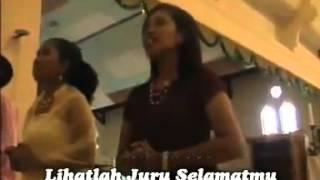 preview picture of video 'Bunda Pembantu Abadi  (Gua Maria Bitauni )'