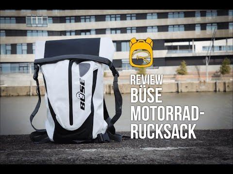 Büse Motorrad Rucksack - Review auf Deutsch - Rucksack Test