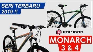 Sepeda MTB - Sepeda Gunung Polygon Monarch M3 - GRATIS ONGKIR & PERAKITAN KHUSUS JABODETABEK