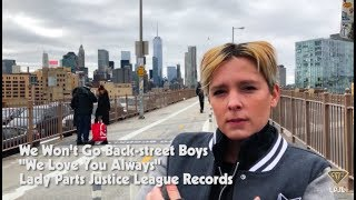 We Won't Go Back-street Boys