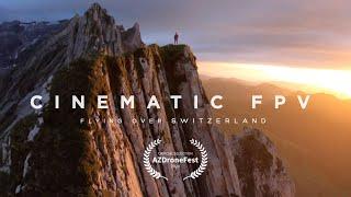 Cinematic FPV - Flying Over Switzerland