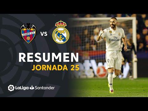 Resumen de Levante UD vs Real Madrid (1-2)