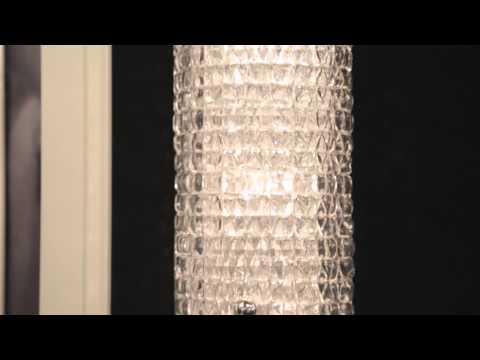 Video for Westville Polished Nickel Three-Light Wall Sconce with Clear Glass