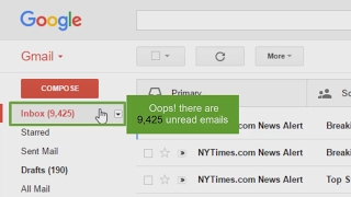 How to mark all unread mails as read in Gmail