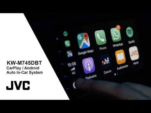 KW-M745DBT Apple CarPlay Android Auto Car Multimedia System | JVC
