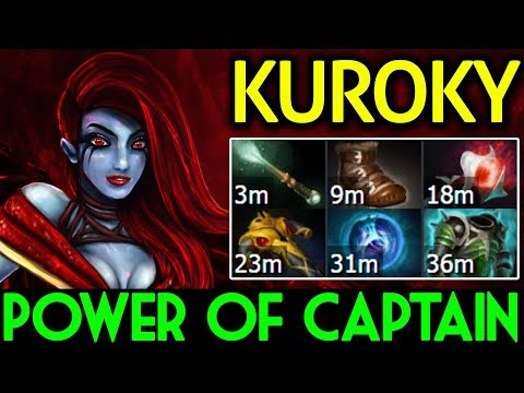 KuroKy Dota 2 [Queen of Pain] Power of Captain | Solo Mid
