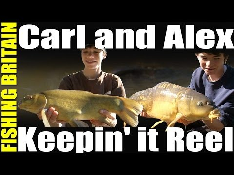 Carl and Alex on Fishing Britain