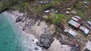 preview picture of video 'UAV Aerial Video of Disaster Damage - Cyclone Pam - Nguna Island, Vanuatu'