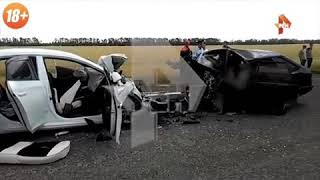 Разлетелись на куски: видео с места ДТП на Кубани, где погибли пять человек