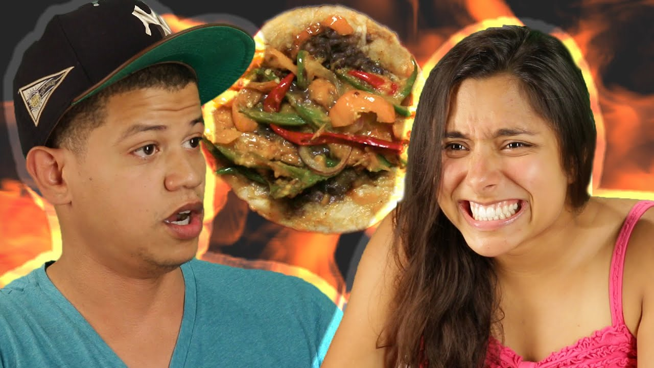People Try The Spicy Taco Challenge thumbnail