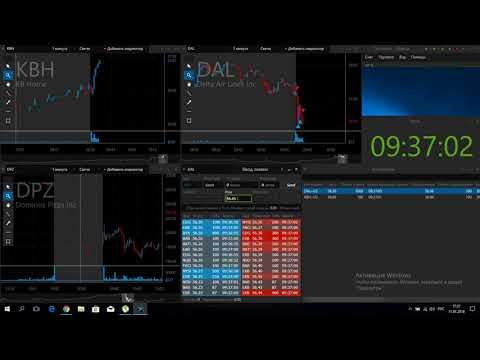 Видеозапись утренней торговой сессии UTchallenge от 11.01.18(+52$)